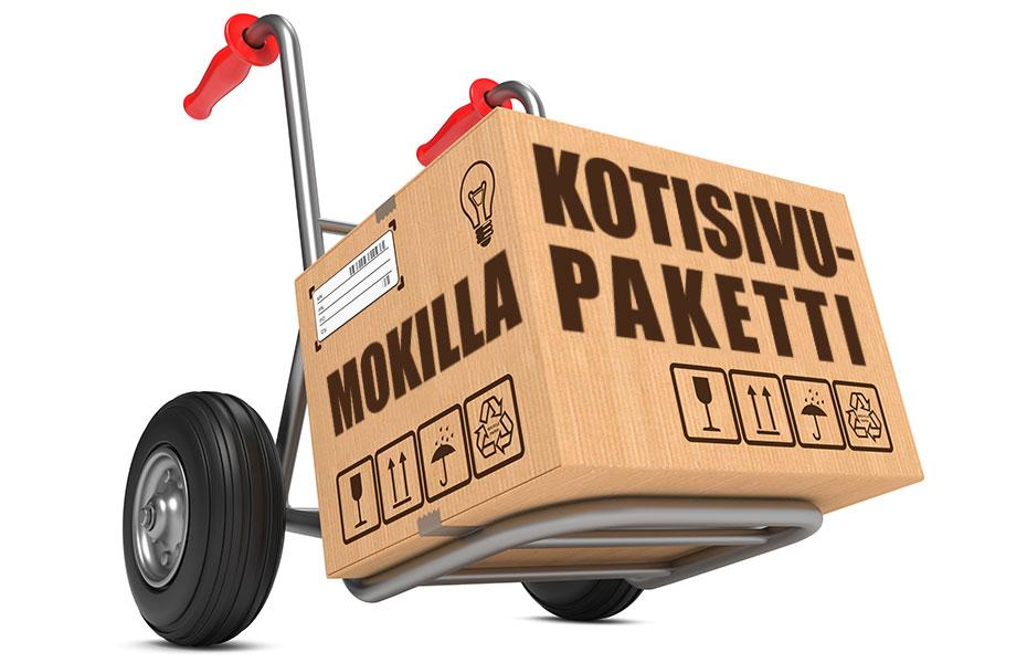 Toimivat kotisivut yritykselle Mokilla-kotisivupaketilla