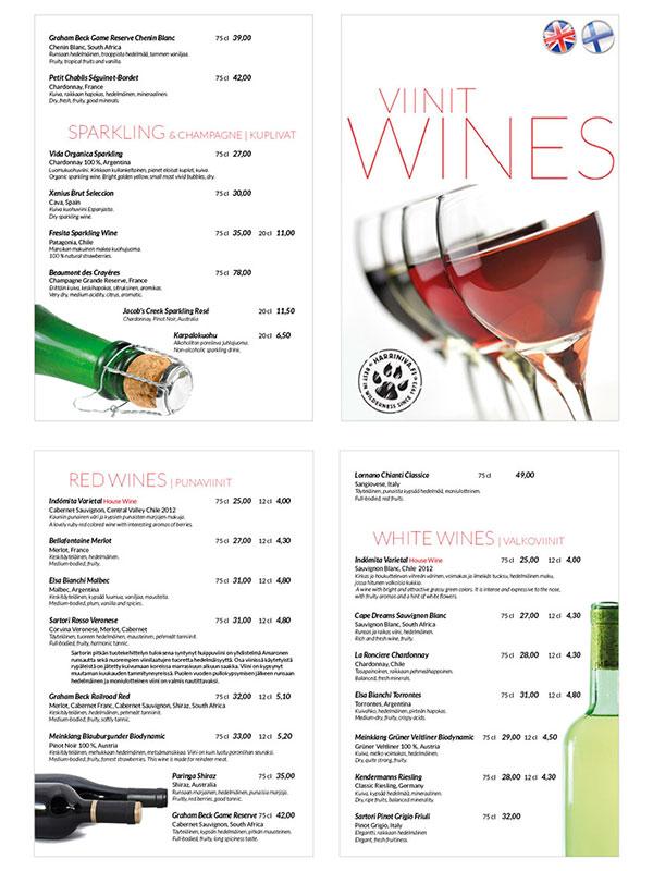 Viinilista 2014